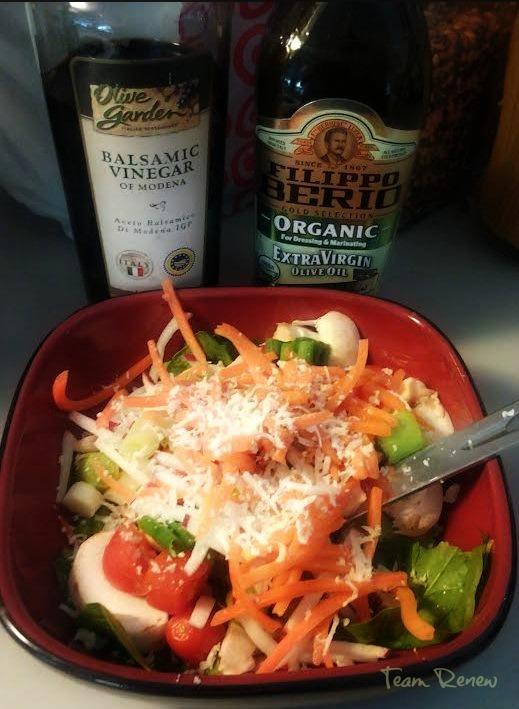 Hickory Smoke Parmesan Salad